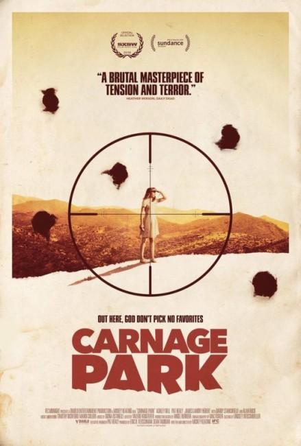 Carnage Park (2016) poster