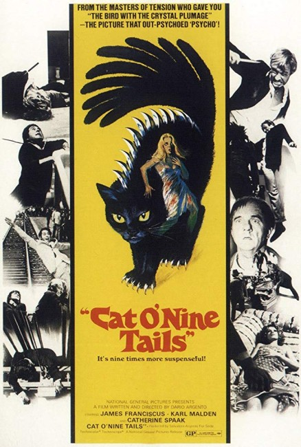 The Cat O'Nine Tails (1971) poster