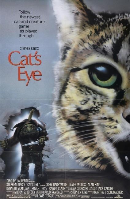 Cat's Eye (1985) poster