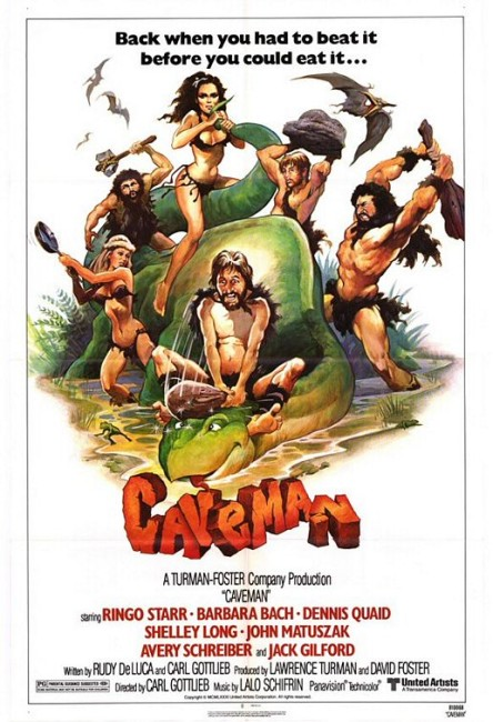 Caveman (1981) poster