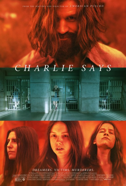 Charlie Says (2018) poster