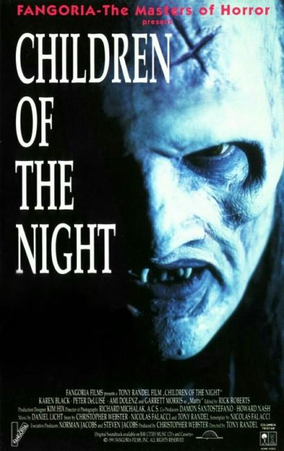 Children of the Night (1991) poster