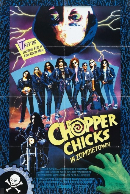 Chopper Chicks in Zombietown (1991) poster