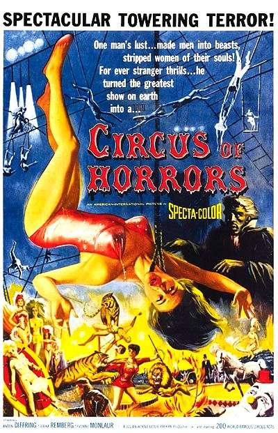 Circus of Horrors (1960) poster