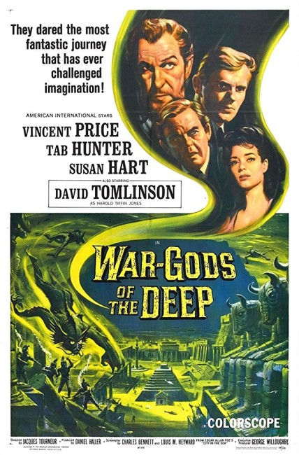 The City Under the Sea/War-Gods of the Deep (1965) poster