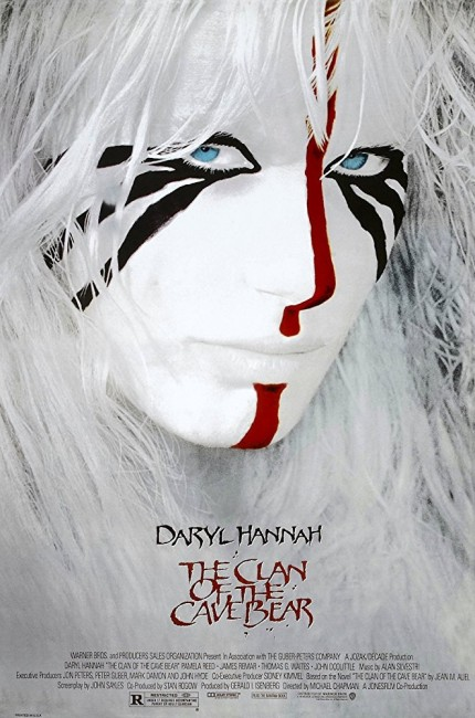 Clan of the Cave Bear (1986) poster