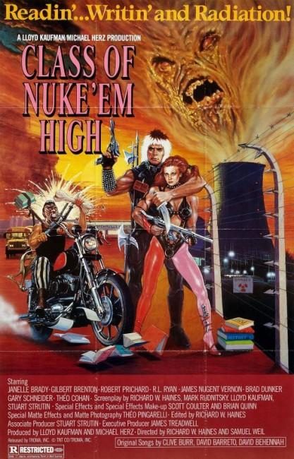 Class of Nuke 'Em High (1986) poster