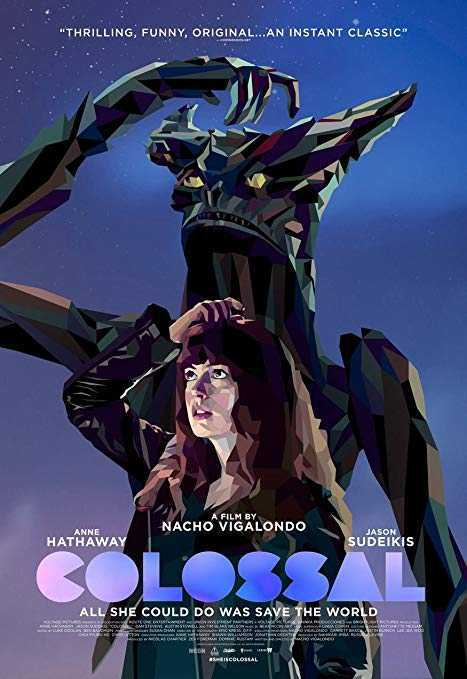 Colossal (2016) poster