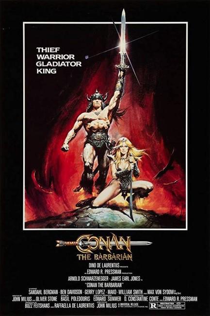 Conan the Barbarian (1982) poster