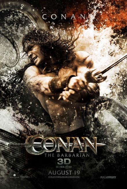 Conan the Barbarian (2011) poster