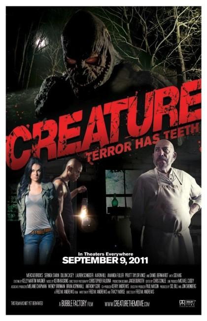 Creature (2011) poster