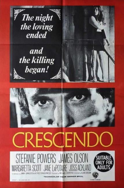Crescendo (1970) poster