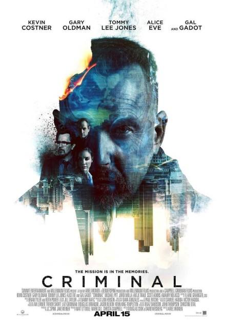 Criminal (2015) poster
