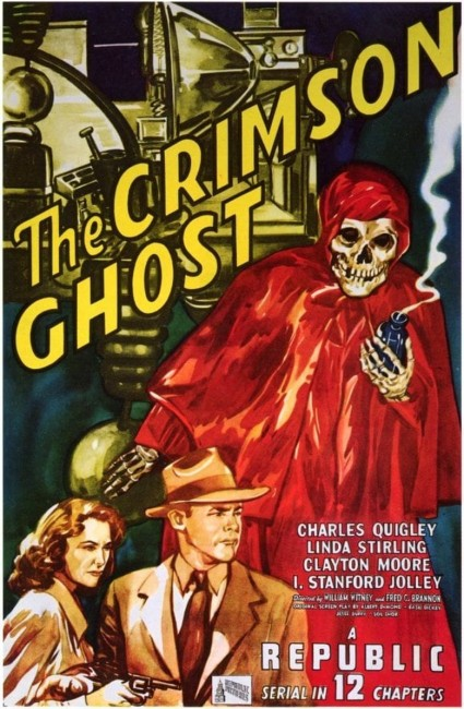 The Crimson Ghost (1946) poster