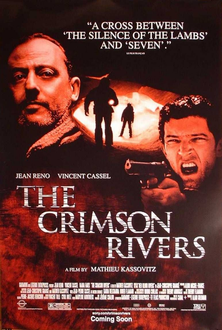 The Crimson Rivers (2000) poster