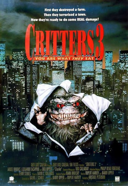 Critters 3 (1991) poster