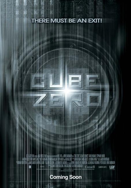 Cube Zero (2004) poster