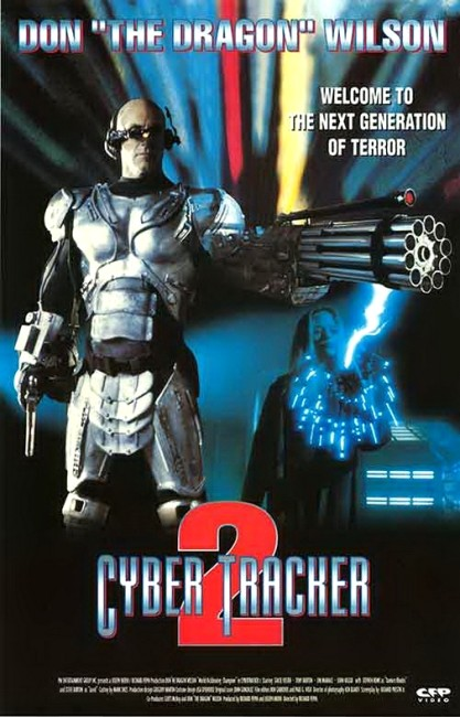 Cybertracker 2 (1995) poster 1