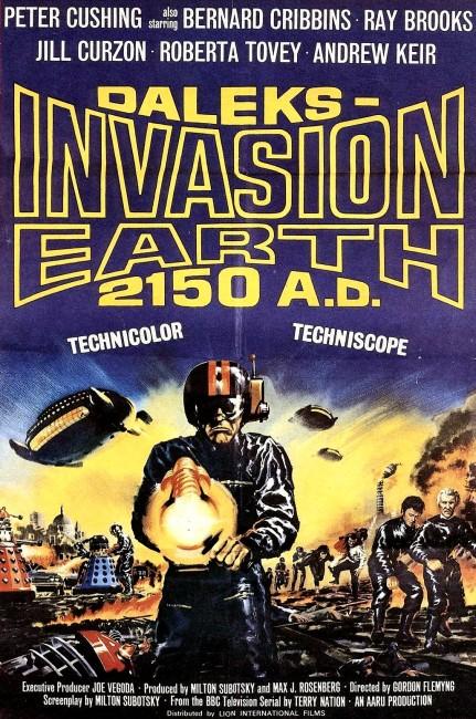 Daleks' Invasion 2150 A.D. (1966) poster