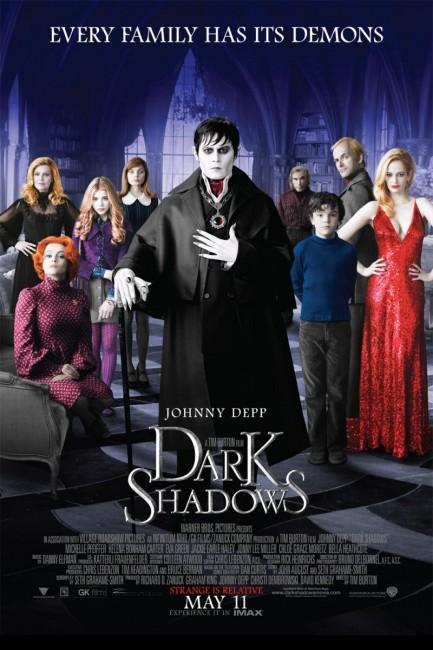 Dark Shadows (2012) poster