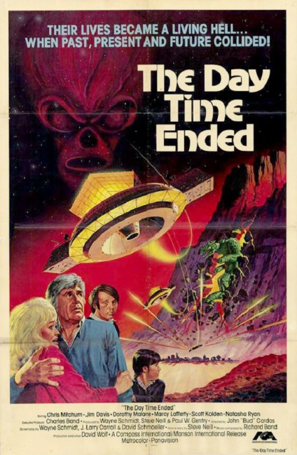 The Day Time Ended (1980) poster