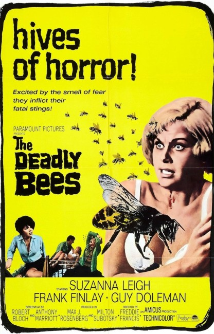 The Deadly Bees (1967) poster