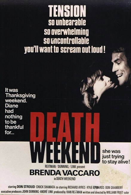 Death Weekend (1976) poster