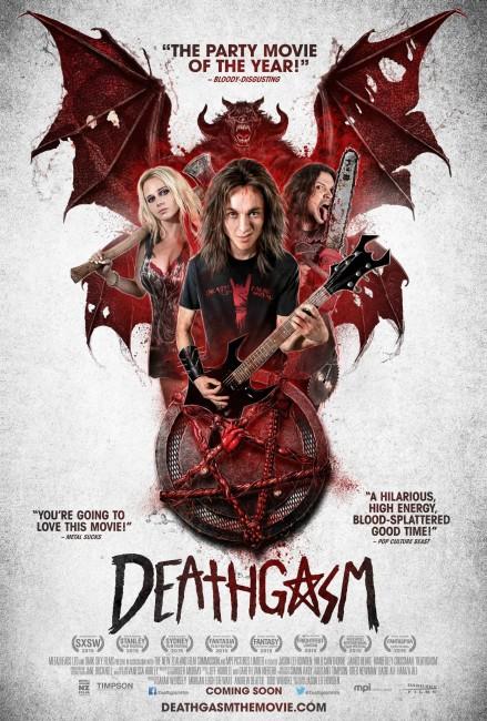 Deathgasm (2015) poster