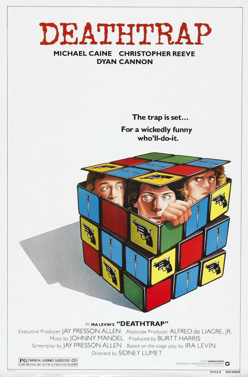 Deathtrap (1982) poster