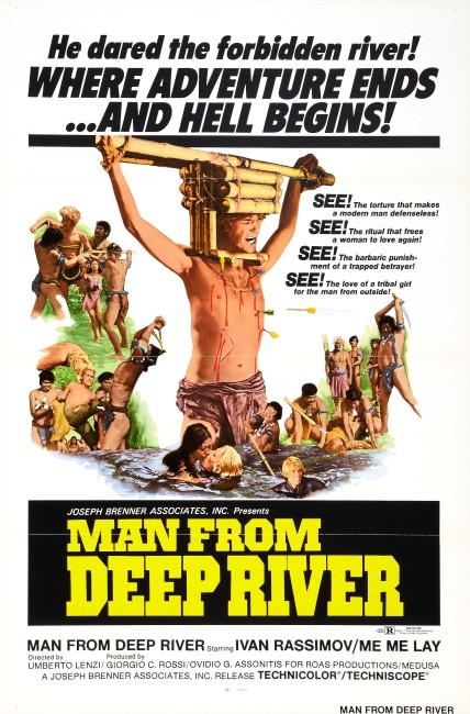 Deep River Savages/Man from Deep River (1972) poster