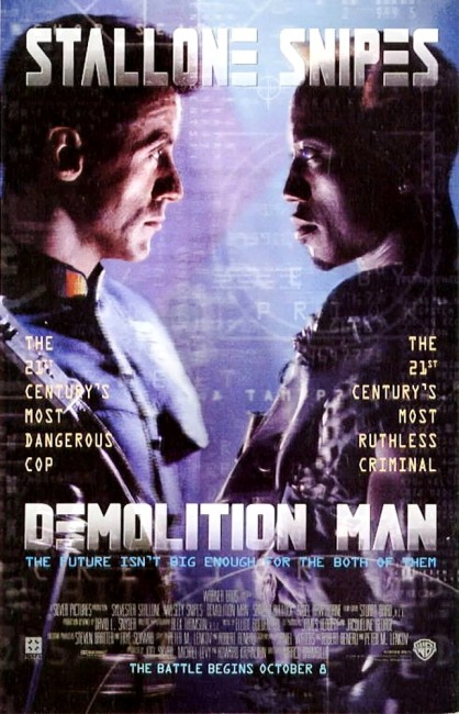 Demolition Man (1993) poster