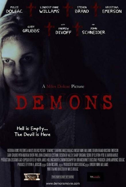 Demons (2017) poster