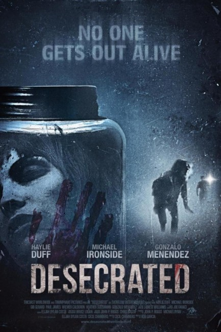 Desecrated (2015) poster