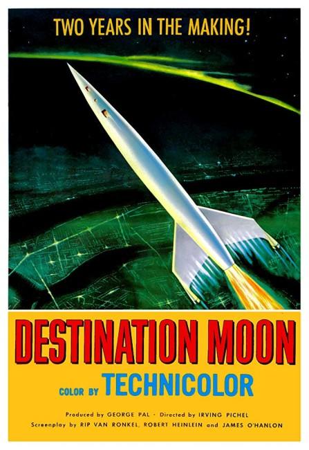 Destination Moon (1950) poster