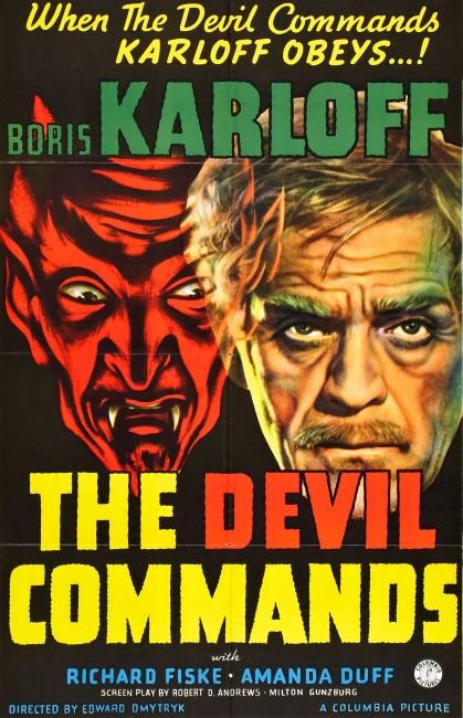 The Devil Commands (1941) poster