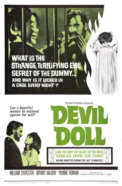 Devil Doll (1964) poster