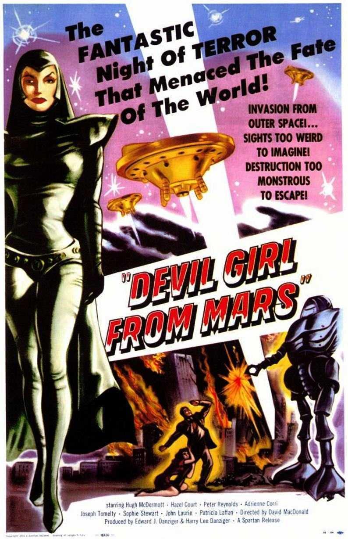 Devil Girl from Mars (1954) poster