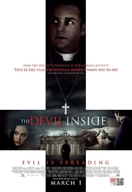 The Devil Inside (2012) poster