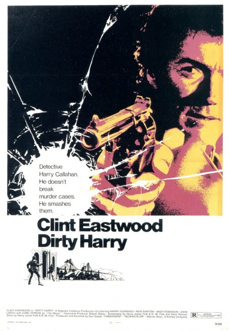 Dirty Harry (1971) poster