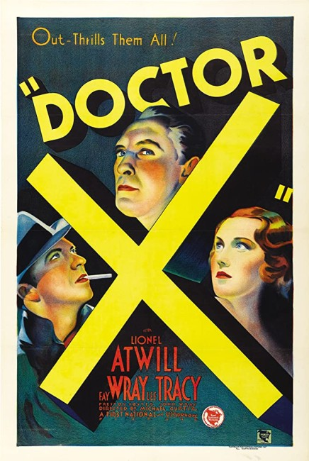 Doctor X (1932) poster