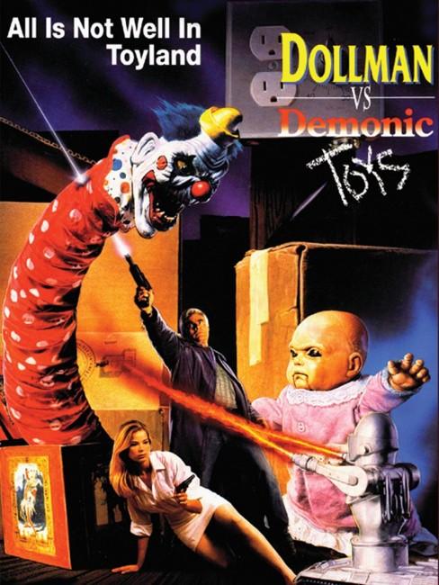 Dollman Vs. the Demonic Toys (1993) poster