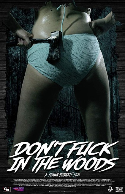 Don't Fuck in the Woods (2016) poster
