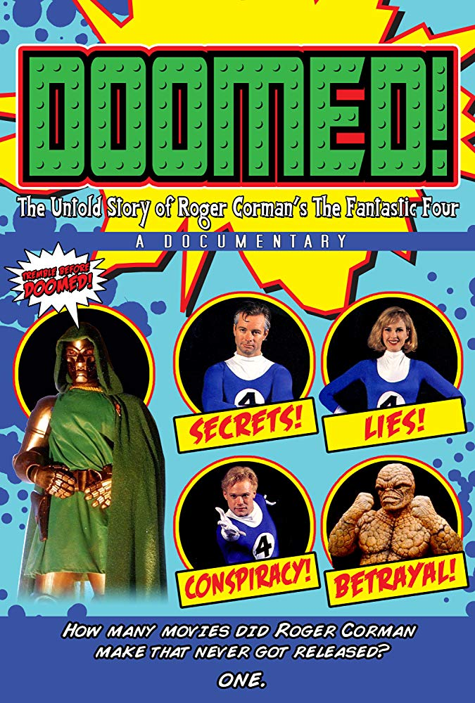 Doomed: The Untold Story of Roger Cormans The Fantastic Four (2015) poster