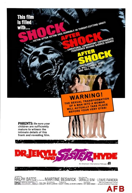 Dr Jekyll and Sister Hyde (1971) poster