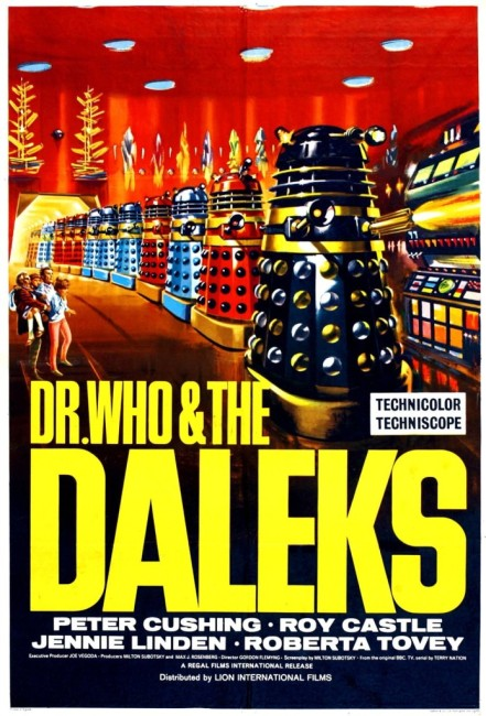 Dr Who and the Daleks (1965) poster