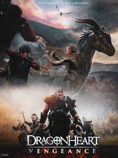 DragonHeart Vengeance (2020) poster