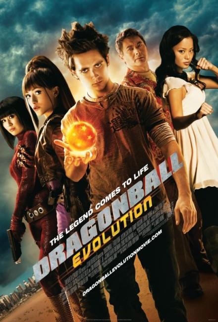 Dragonball Evolution (2009) poster