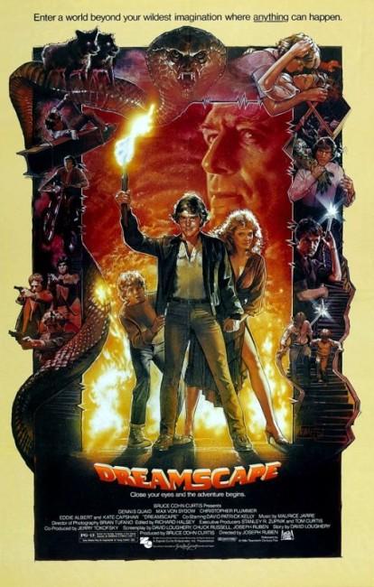 Dreamscape (1984) poster