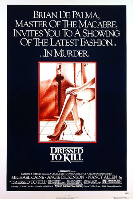Dressed to Kill (1980) poster