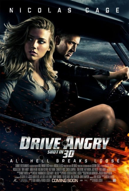 Drive Angry (2011) poster